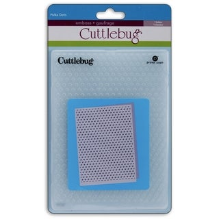 Cuttlebug 5X7in Embossing Folder-Polka Dots