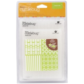 Cuttlebug Embossing Folders 4/Pkg-James
