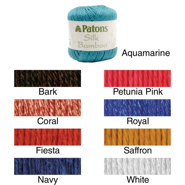 Silk Bamboo Yarn