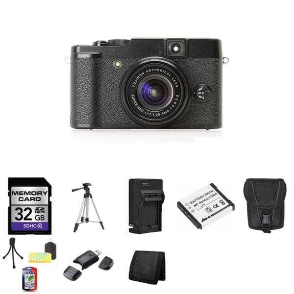 Fujifilm X10 12MP Digital Camera with 32GB Bundle