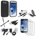 Case/ Screen Protector/ Wrap/ Headset for Samsung Galaxy SIII/ S3