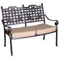 Deluxe Antique Cast Aluminum Garden Bench