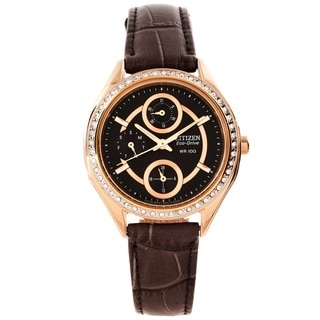 Citizen Women's 'POV 2.0' Crystal-Accented Eco-Drive Watch