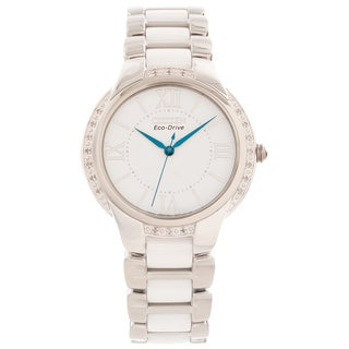Citizen Women's 'Ciena' Eco-Drive Diamond-accented Watch