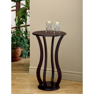 Cherry Veneer Accent Table