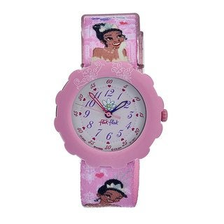 Swatch Kids' Pink Dial Disney Theme Watch