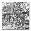 'Map of Paris, 1620' Canvas Art
