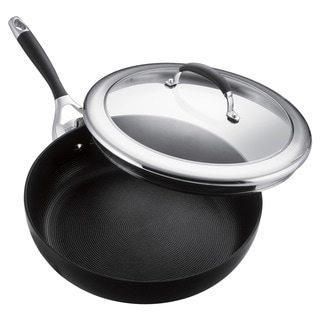 Circulon Elite Hard Anodized Nonstick Charcoal Covered 12-inch Deep Skillet