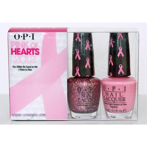 OPI Pink of Hearts Nail Lacquer Set