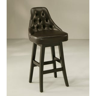 Diamond Wood 30-inch Bar Stool