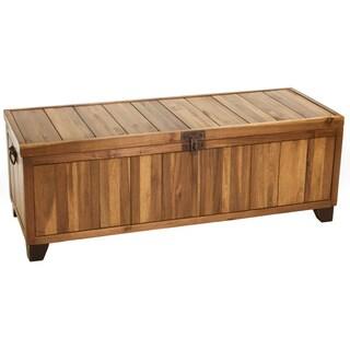 Christopher Knight Home Jada Wood Storage Ottoman Bench