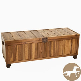 Christopher Knight Home Jada Wood Storage Ottoman Bench