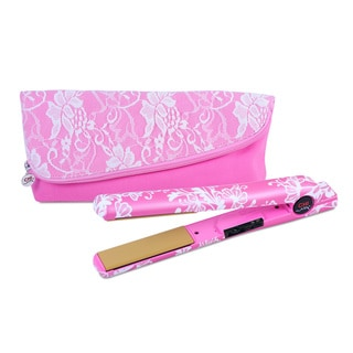 CHI Air Breast Cancer Awareness Tourmaline Ceramic 1-inch Flat Iron