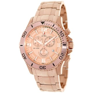 Swiss Precimax Men's 'Tarsis Pro' Rose Goldtone Swiss Chronograph Watch