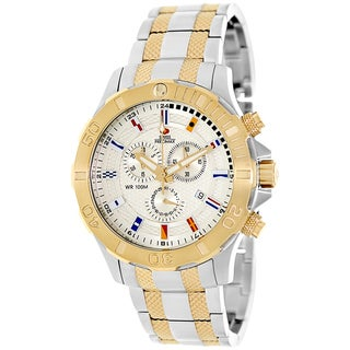 Swiss Precimax Men's 'Armada Pro' Two-tone Swiss Chronograph Watch