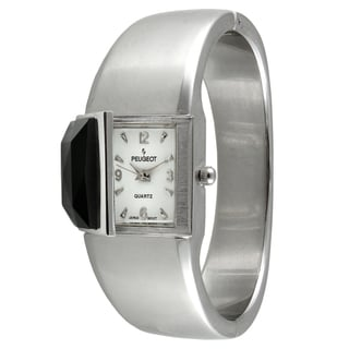 Peugeot Women's Vintage Silvertone Bangle Watch