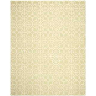Safavieh Handmade Cambridge Moroccan Light Green Wool Area Rug (6' x 9')