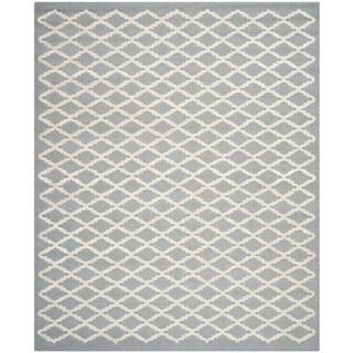 Safavieh Handmade Cambridge Moroccan Silver Latex Wool Rug (8' x 10')