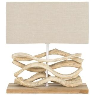Safavieh Mara Bleached Wood Vine Lamp