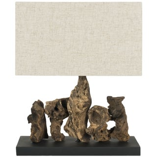 Safavieh Aragon Natural Root Wood Table Lamp