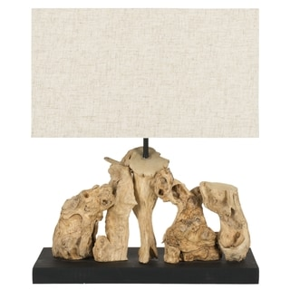 Safavieh Aragon Natural Wood Root Table Lamp