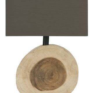 Safavieh Forester Natural Wood Lamp