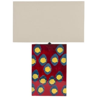 Safavieh Dottie Red Table Lamp