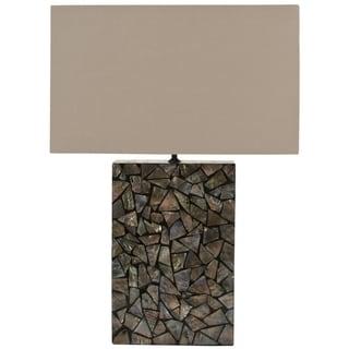 Safavieh Mosaic Brown Mother of Pearl Lamp