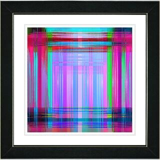 Studio Works Modern 'Malawali Strait - Lavender' Framed Print