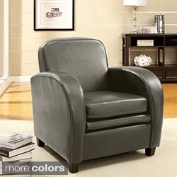 Furniture of America Double Padded Club Chair