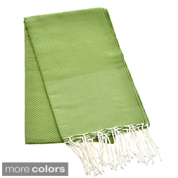 Authentic Fouta Natural Cotton Solid Color Beach Towel (Tunisia)