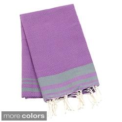 Authentic Fouta Natural Cotton Beach Towel (Tunisia)