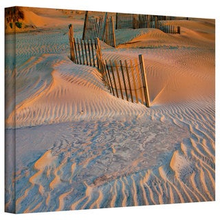 Steve Ainsworth 'Dune Patterns II' Gallery-Wrapped Canvas