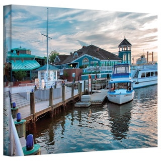 Steve Ainsworth 'Alexandria Waterfront' Gallery-Wrapped Canvas