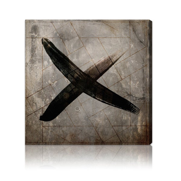 Oliver Gal 'Cross' Canvas Art Print