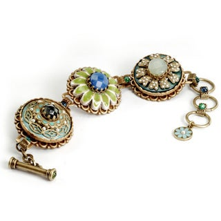 Sweet Romance Flower Trio Bracelet