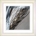 Studio Works Modern 'Shaft of Wheat - Brown' Framed Print