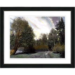Studio Works Modern 'Forest Path' Framed Print