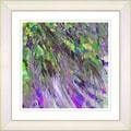 Studio Works Modern 'Palm Tree Euphoria - Green' Framed Print