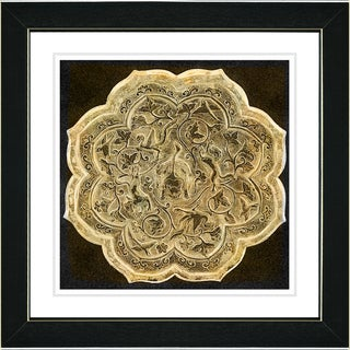 Studio Works Modern 'Platos - Sepia' Framed Print