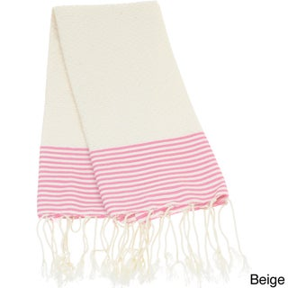 Cotton Honeycomb Textured Fouta Hand Towel (Tunisia)