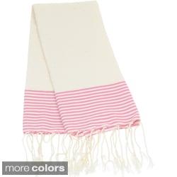 Cotton Honeycomb Textured Fouta Hand Towel (Tunisia)