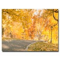 Ariane Moshayedi 'Central Park Path' Canvas Art
