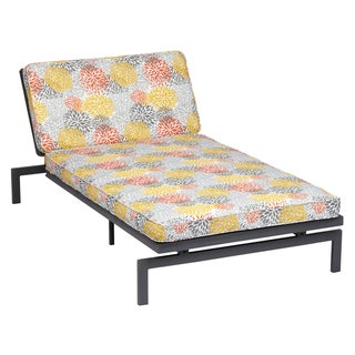 Alyssa Tango Bloom Adjustable Outdoor Chaise with Corded Cushion