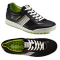 ECCO Men's Street Sport Black/ Lime Golf Shoes