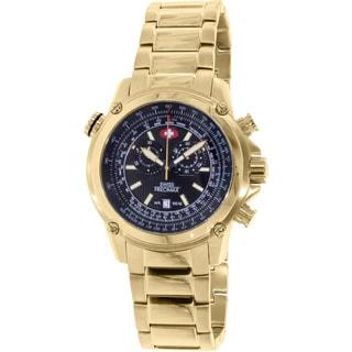 Swiss Precimax Men's Squadron Pro Gold Steel Chronograph Watch