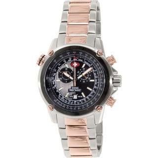 Swiss Precimax Men's Squadron Pro Two-tone Steel Chronograph Watch