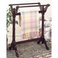 Heirloom Cherry Finish Blanket Rack