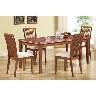 Dark Oak Set of 2 Side Chairs