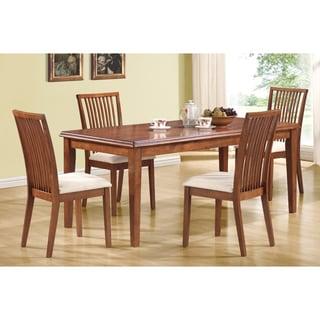 Dark Oak Set of 2 Side Chairs
